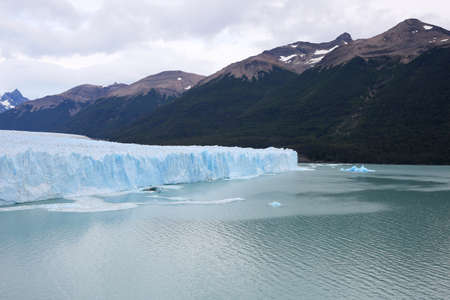 patagonia: View of Perito Moreno Glacier - Patagonia- Argentina Stock Photo