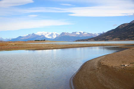 argentino: Stream getting to Argentino lake - South Patagonia