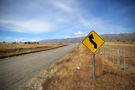 patagonia: South Patagonia road sign
