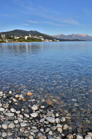 huapi: Nahuel Huapi lake and San Carlos de Bariloche in background