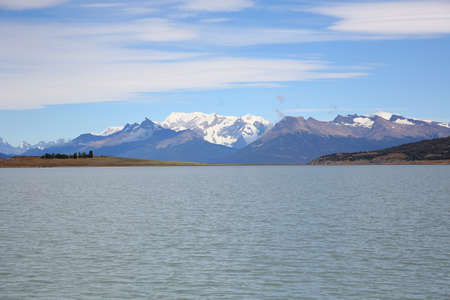 argentino: View of Argentino lake and Glaciers National park