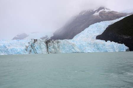 argentino: View of Spegazzini glacier from boat, Lago Argentino