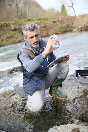 metodo cientifico: Calidad de las pruebas Bi�logo de agua naturales