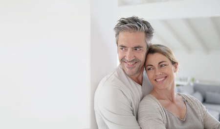 Portrait of mature couple looking toward the future Stock Photo - 38229210