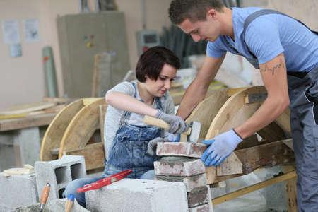 craftsmanship: Young people in craftsmanship professional training