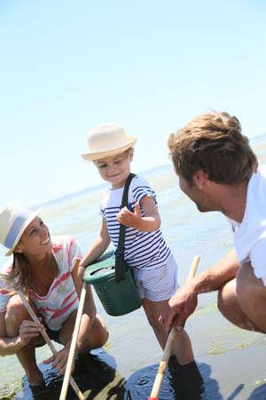 fischerei: Familie �ben Freistrand Fischerei