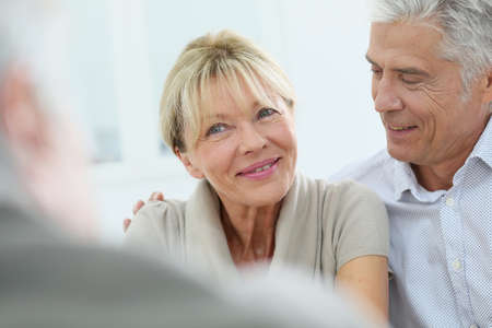 retirement: Portrait of happy senior couple