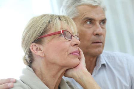 pareja de esposos: Retrato de pareja de ancianos casados