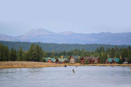 Henry's Fork river, Idaho Фото со стока - 109949315