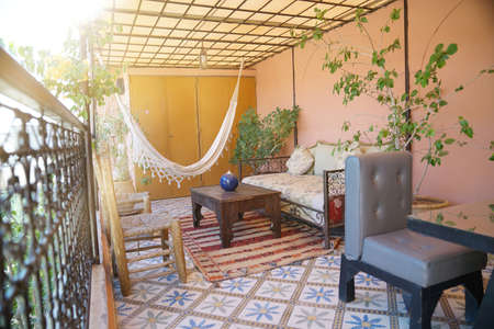 Stunning traditional Moroccan riad