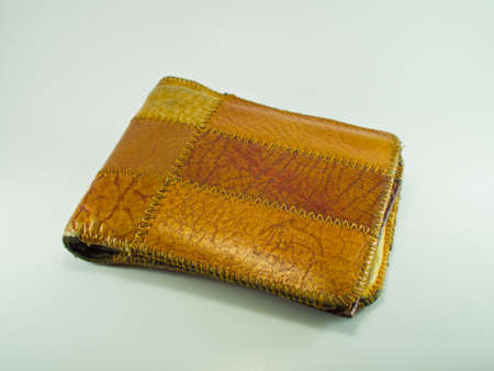 This is a Wallet Its made in Thailand Stock Photo