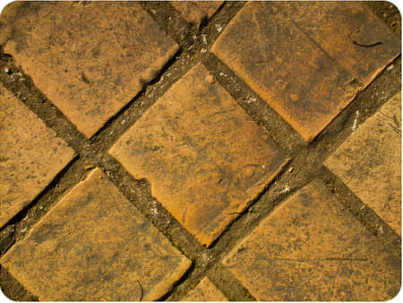 This is a texture of brick on ground It
