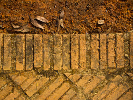 this is a pattern of brick It 写真素材