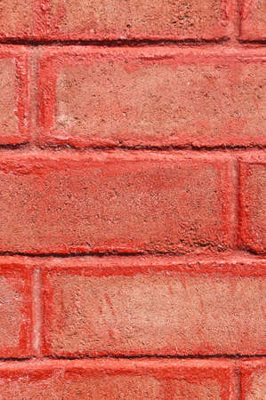 This is a old red brick wall photo