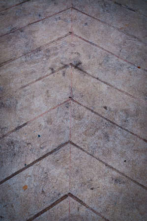This is a arrow on the ground Stock Photo - 11886315