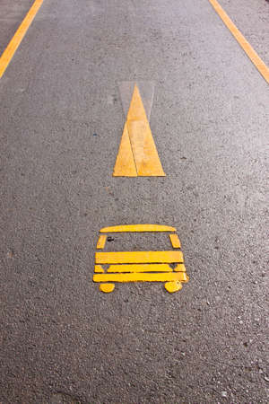 This is a symbol of ca way on the ground Stock Photo - 12179071