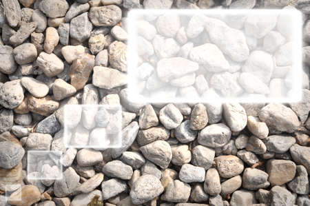 This is a textbox on Pebbles background  photo