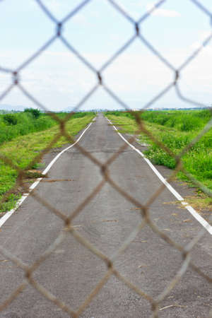This is a rural way Stock Photo - 14417691