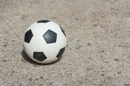 This is a ball on concrete
