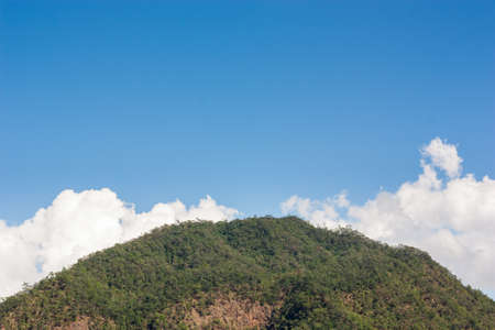 mountain and  blue sky day light Stock Photo