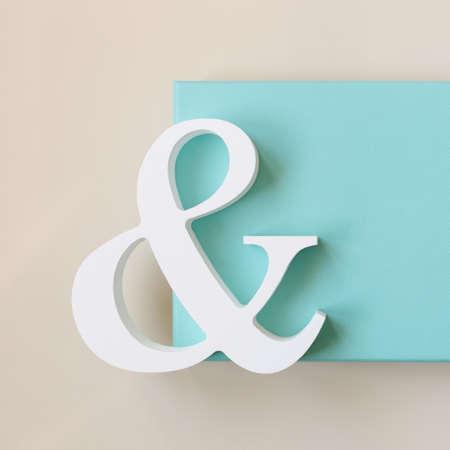 tiffany blue: symbol with blue box