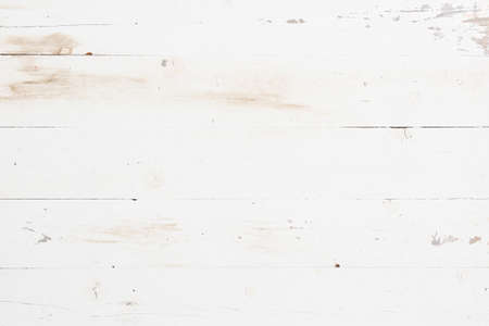 White texture background. The wooden table is white. Directly above 스톡 콘텐츠 - 131928885