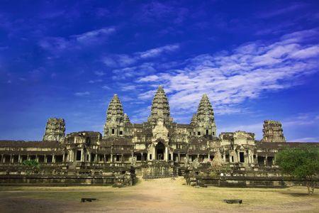 Angkor wat. Near Siem Riep. Cambodia