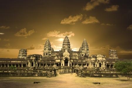 angkor: Angkor wat. Near Siem Riep. Cambodia