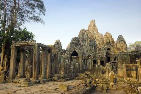 Bayon temple. Near Siem Riep. Cambodia Stock Photo - 2902277