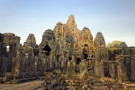 Bayon temple. Near Siem Riep. Cambodia Stock Photo - 2902275
