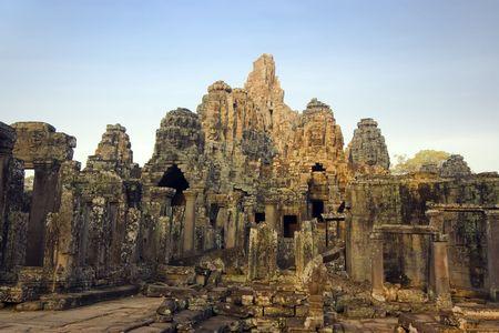 Bayon temple. Near Siem Riep. Cambodia Stock Photo - 2902275