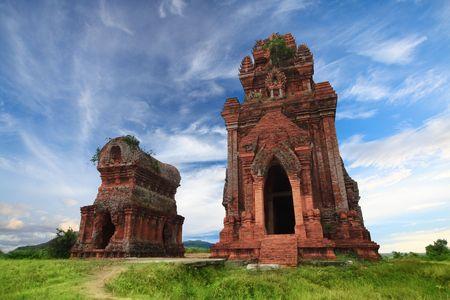 Banh It Towers , Qui Nhon, Vietnam Stock Photo - 5515250