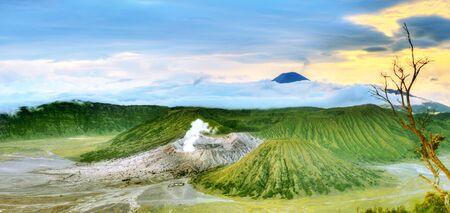 tengger: Bromo Tengger Semeru national park. Java. Indonesia