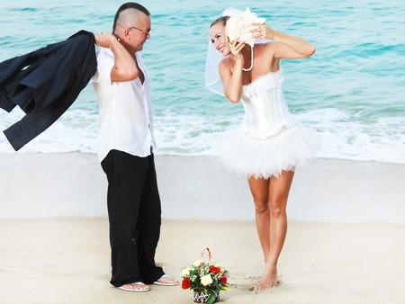 Wedding on the tropical beach Stock Photo - 7941426