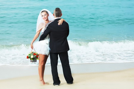 Wedding on the tropical beach Stock Photo - 7941429