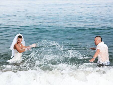 Wedding on the tropical beach Stock Photo - 7941417