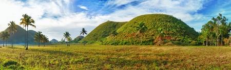 Panorama of The Chocolate Hills. Bohol, Philippines Stock Photo - 9156022
