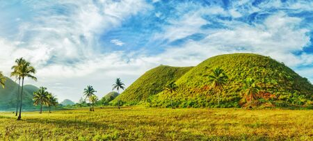 View of The Chocolate Hills. Bohol, Philippines Stock Photo - 9276432