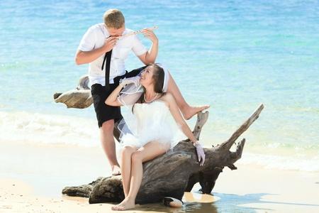 Wedding on the tropical beach Stock Photo - 9366022