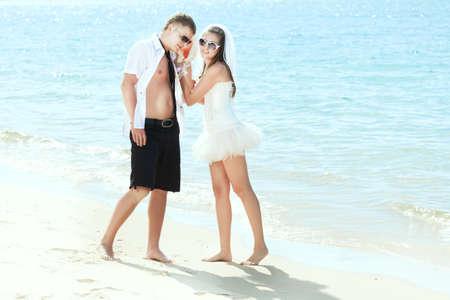 Wedding on the tropical beach Stock Photo - 9366018