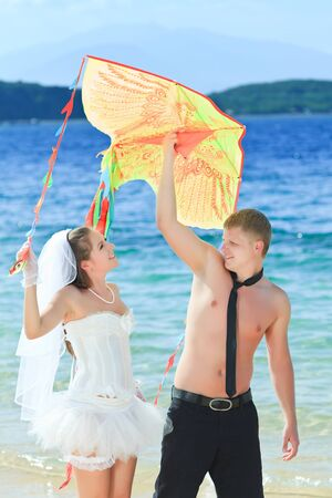 Wedding on the tropical beach Stock Photo - 9366028