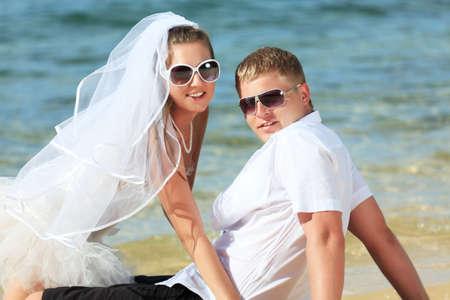 Wedding on the tropical beach Stock Photo - 9366025