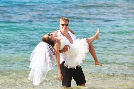 Wedding on the tropical beach Stock Photo - 9366008