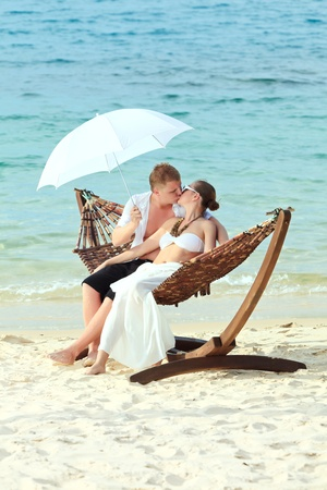Wedding on the tropical beach Stock Photo - 9366032