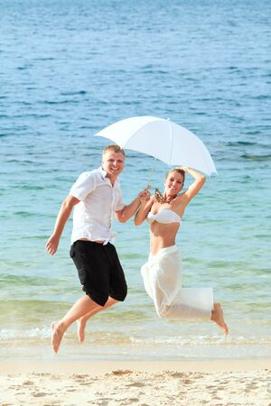 Wedding on the tropical beach Stock Photo - 9366002