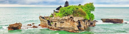 Tanah Lot temple. Tabanan. Bali Stock Photo