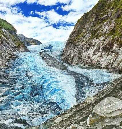 franz josef: Franz Josef Glacier en Nueva Zelanda