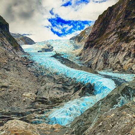 franz josef: Franz Josef glacier in New Zealand