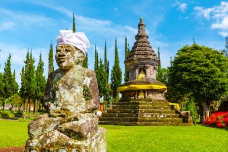Pura Ulun Danu tempel op een meer Beratan. Bali