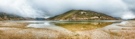 Lyndon lake. Southern Alps. Arthurs Pass. New Zealand photo